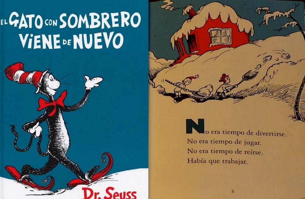 El gato con sombrero Dr, Seuss